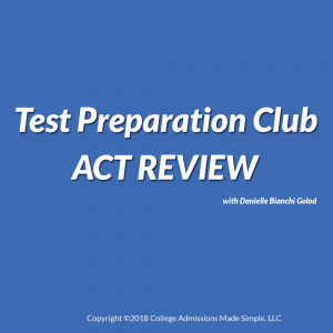 ACT Review from Danielle Bianchi Golod