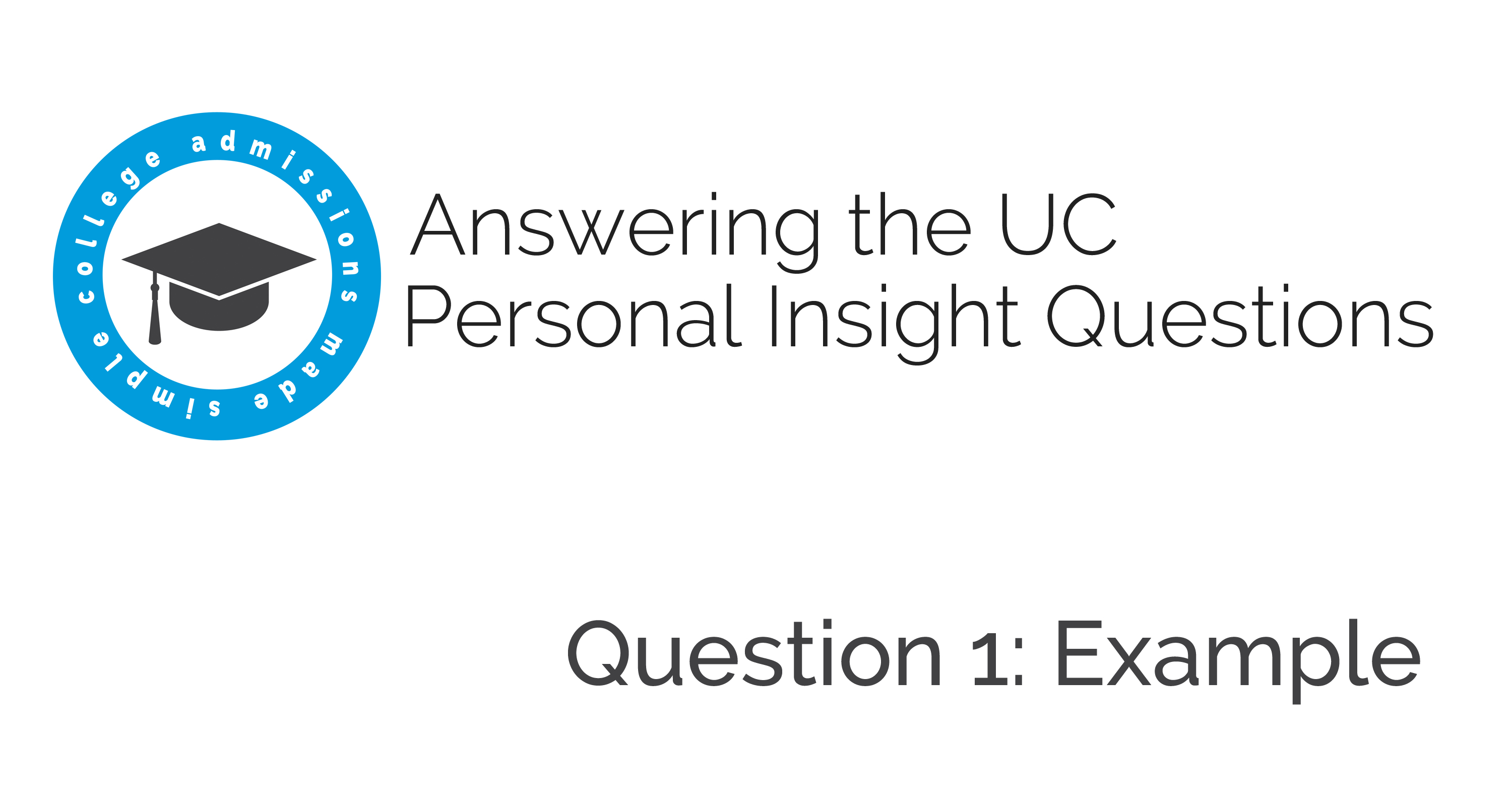 uc personal essay prompt 1 Notes regarding prompt #1 make sure that your essay addresses the prompt and does not include material that is (university of california, personal statement web.