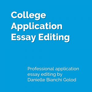 Editing essays the confident writer chapter revising and editing the personal statement blueprint write a memorable application essay college admissions expert danielle bianchi golod helps malvernweather Images