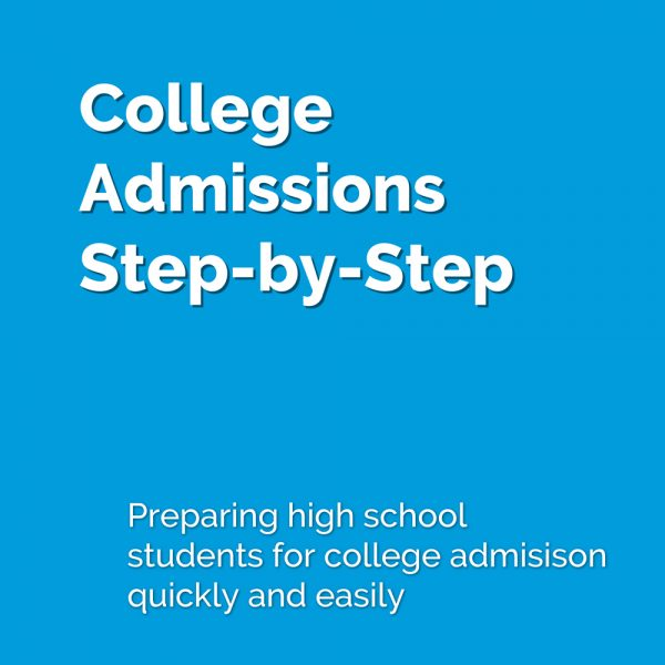 Preparing high school students for college admission, quickly and easily.