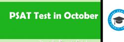 PSAT in October