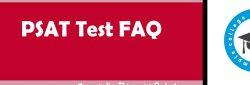 PSAT Test FAQ